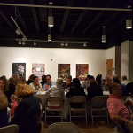 Our Thursday evening networking event at the Arlington Arts Center.