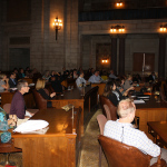 Thursday afternoon's sessions were held in the Warner Chambers at the Nebraska State Capitol